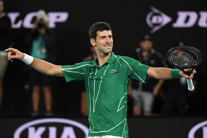 Novak Djokovic is a 17-time Grand Slam winner